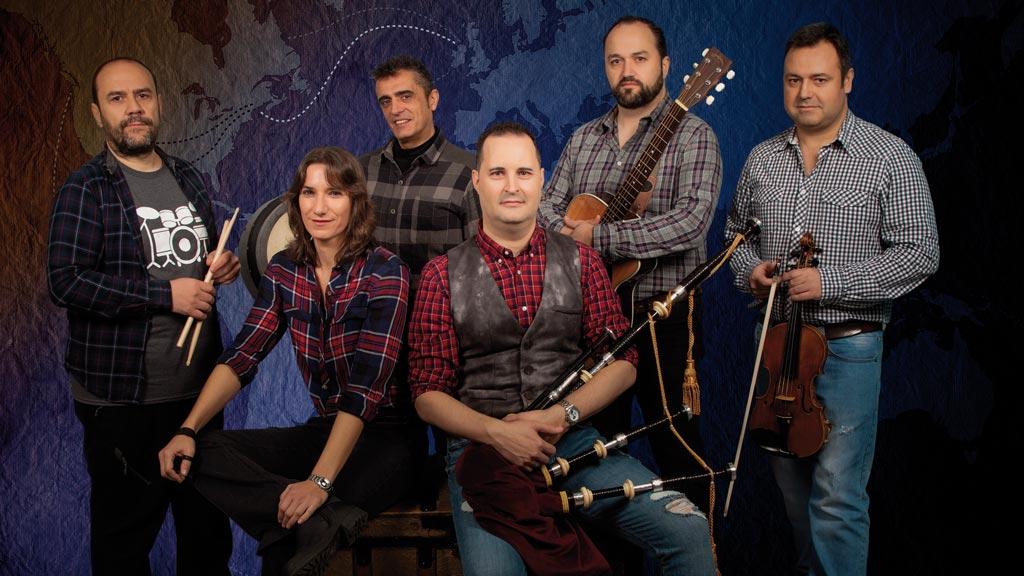 Mosquera Celtic Band - Terra